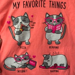 Children's Place My Fav Things Long Sleeve Size 16